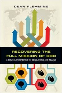 The cover of Flemming's Recovering the Full Mission of God