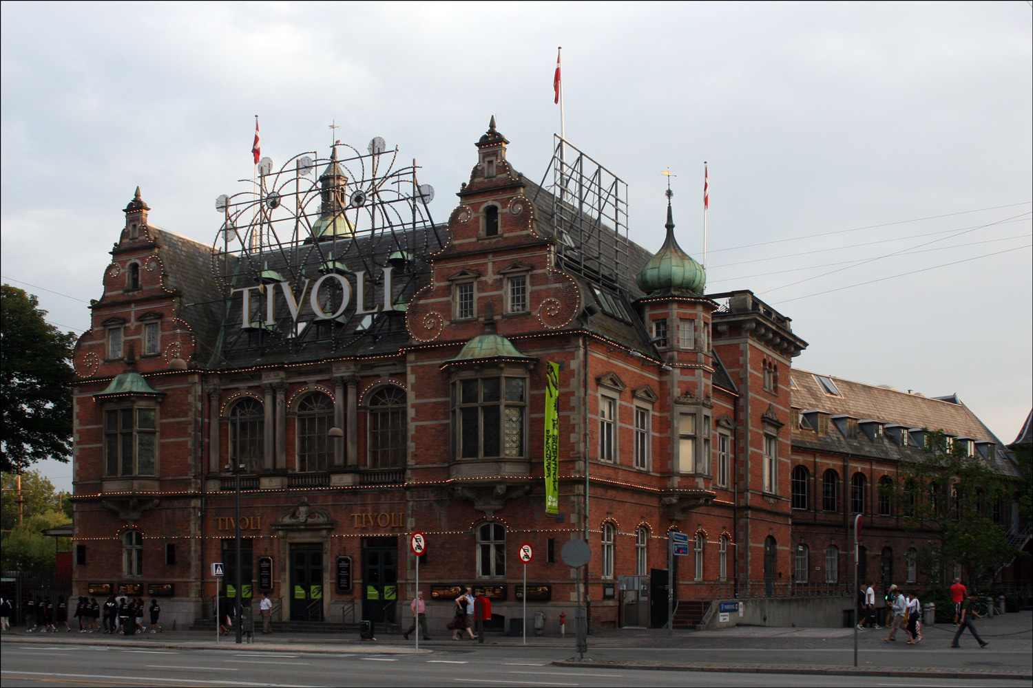 Tivoli Denmark English More Sights In Copenhagen Steve 39s Genealogy Blog
