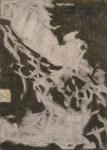"San Juan, 2006, charcoal on paper, 24x16.5"""