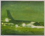 aircraft study, 2009, oil on panel
