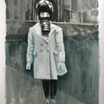 winter outfit, 2010, oil on paper