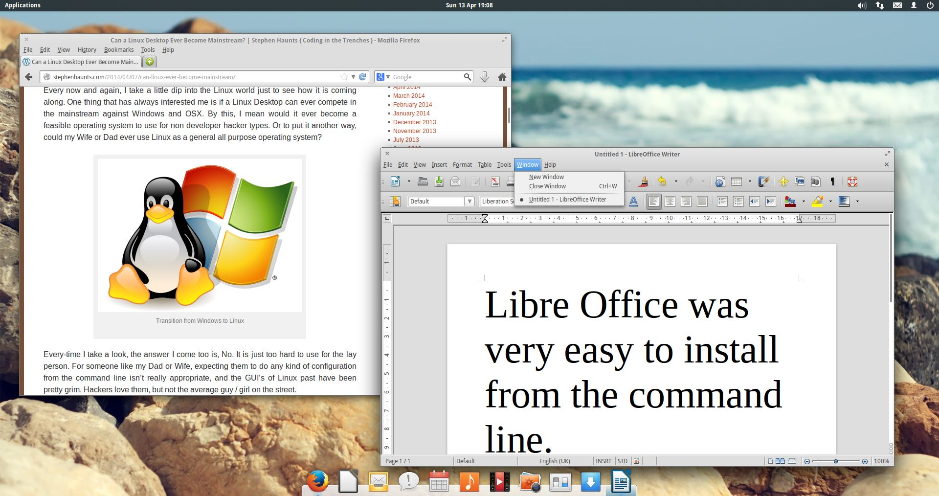 Software Libre Office Elementary Os The Stylish Minimalist Linux Distribution
