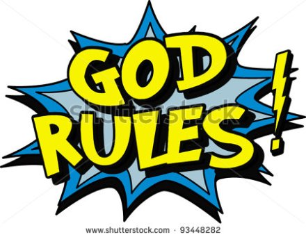 God rules