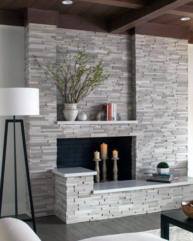 60 Exquisite Stone Fireplace Ideas To Keep You Cuddled Up