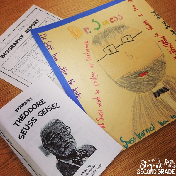 Dr Seuss Ideas - Step into 2nd Grade