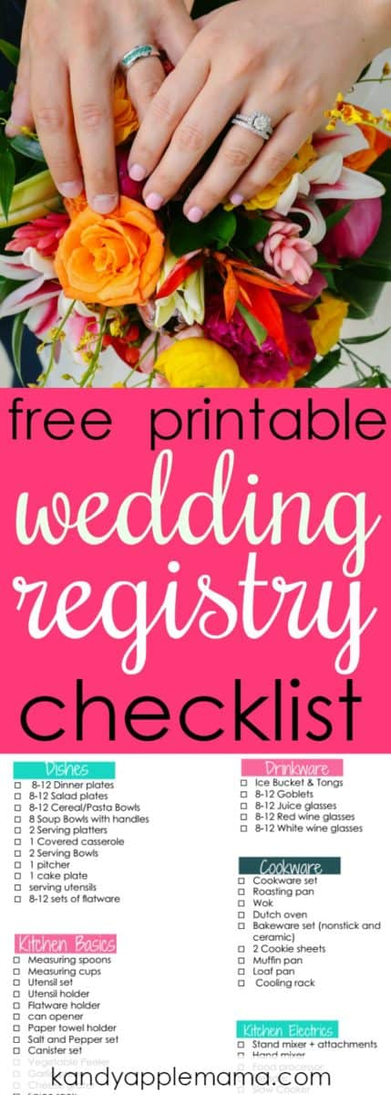 Wedding Registry The BEST Place to Register + a Registry Checklist!