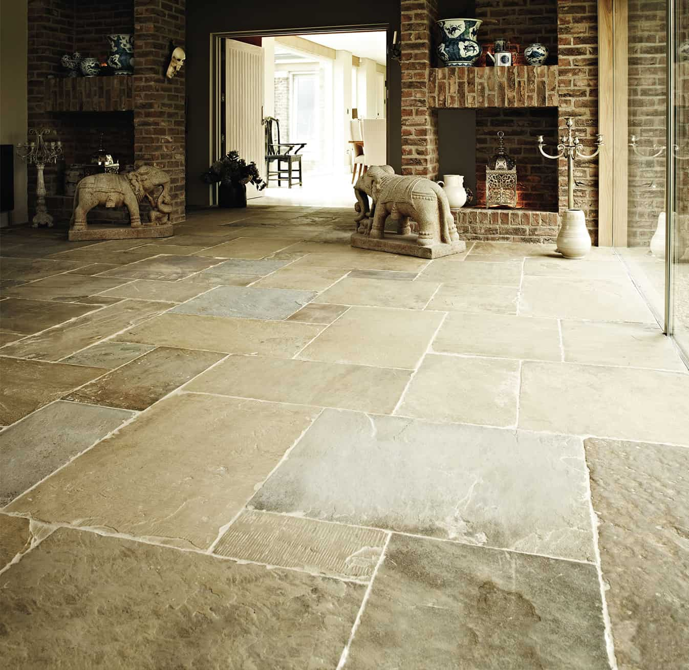 Alternative Fliesen Küchenboden York Stone Flags Add Character To A Property
