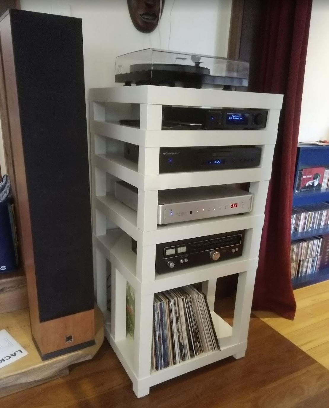 Hifi Rack Nz Ikea Lack Table Hifi Rack Diy Audio Projects Stereonet