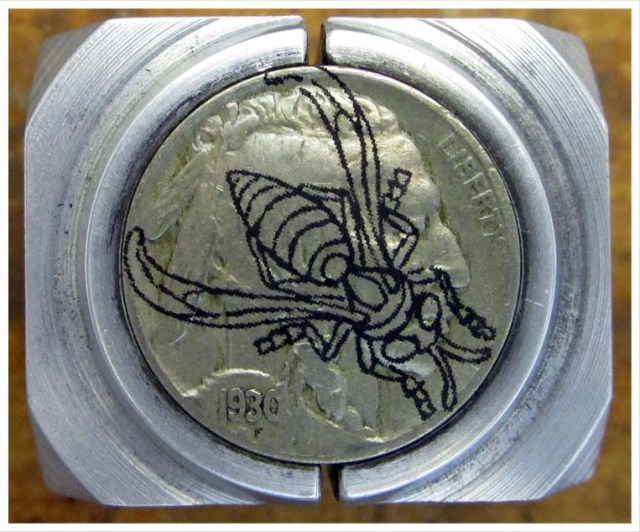 Yellow_Jacket_Hobo_Nickel_Tutorial_1