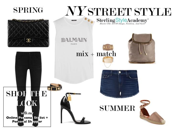 NY Street Style S|S 2016