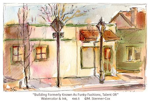 Building Formerly Known as Funky Fashions, Talent OR
