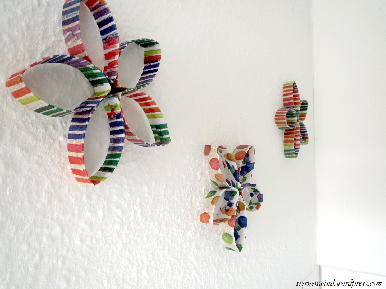 Wanddeko For You Diy Küchenwanddeko Aus Klopapierrollen Sternenwind Blog