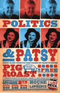 Politics and Patsy Poster