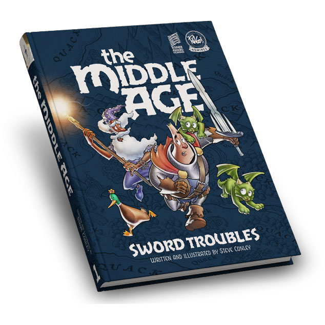 The Middle Age Volume 1 Hardcover Steve Conley