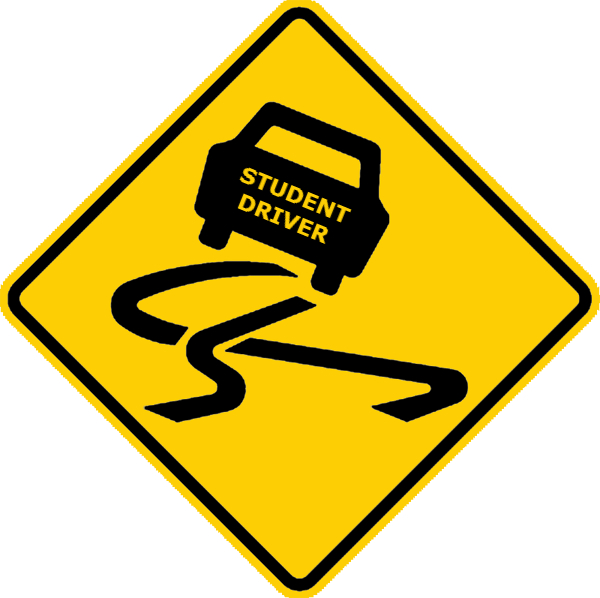 picture regarding Student Driver Sign Printable named Dmv Highway Signs or symptoms Standing