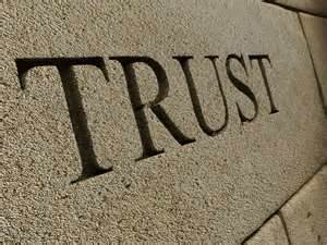 Trust is a Mighty Big Word