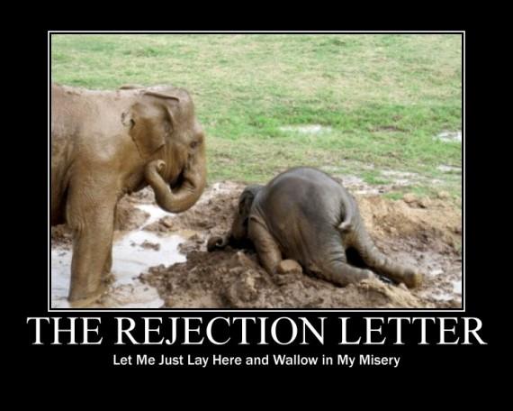 rejection-letter Funny Pinterest - rejection letter