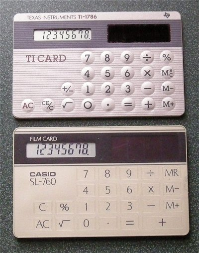 Vintage Electronic Calculators