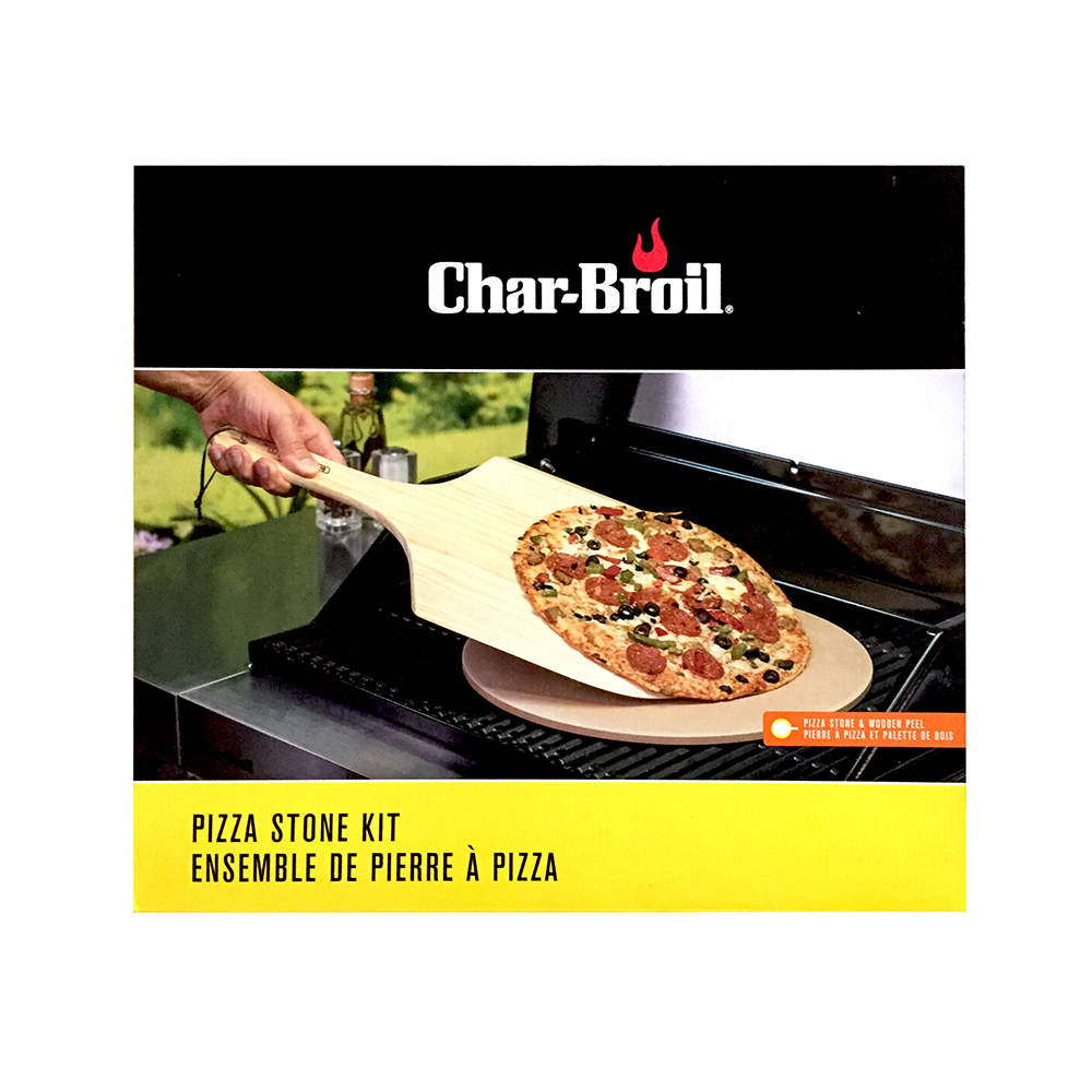 Pierre A Pizza Char Broil Pizza Stone Kit Steve Leif