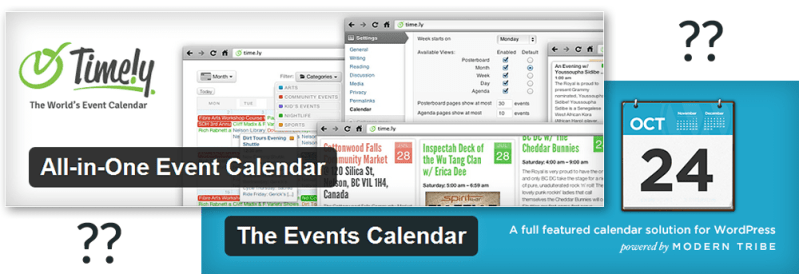 Which Events Calendar should I use for WordPress