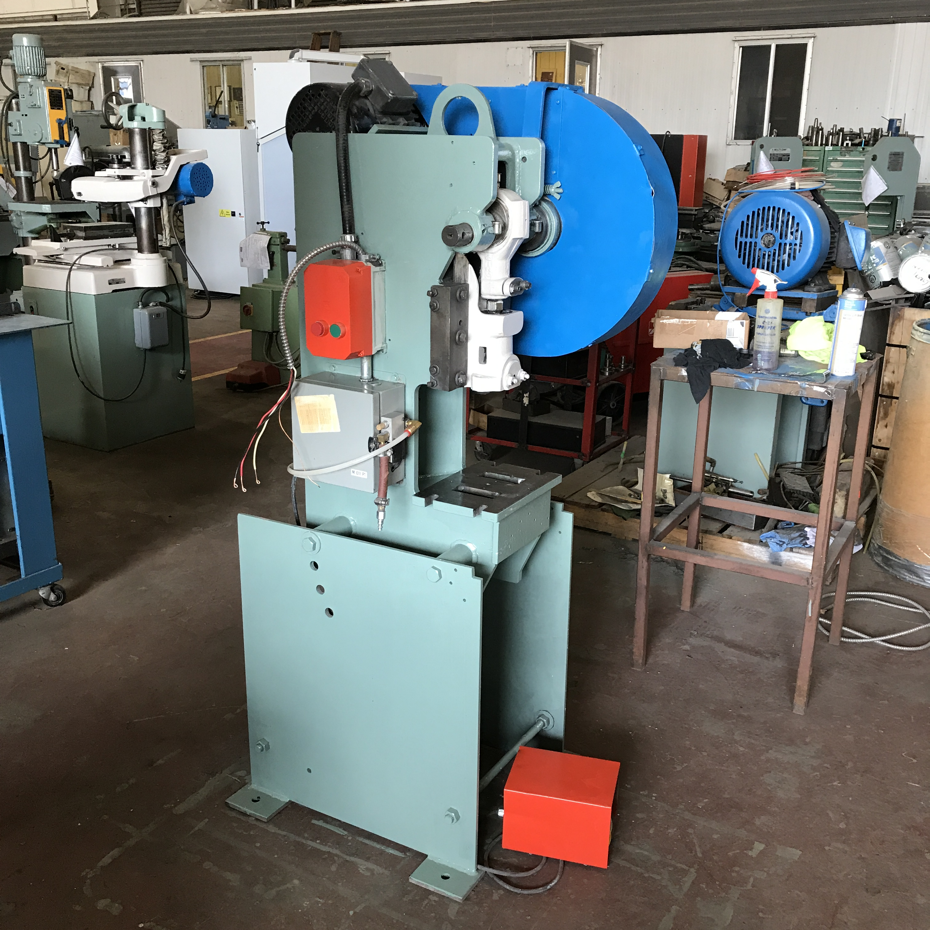 Pool Filtersand Obi Presses Punch Mechanical Hydraulic Obi Metal Stamping