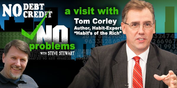 Tom Corley announces Rich Habits audiobook coming soon
