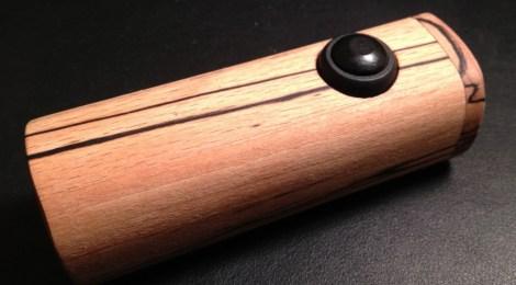 twig hand made wood box mod e-cigarette review
