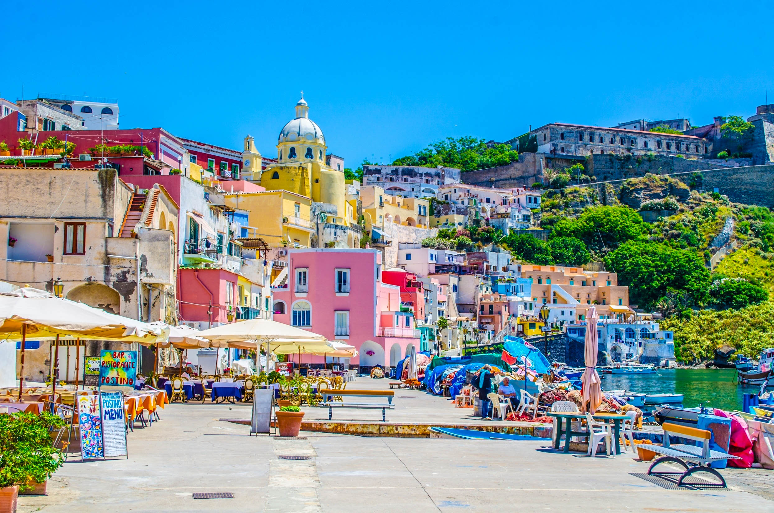 Fall Screen Wallpaper Procida Italy