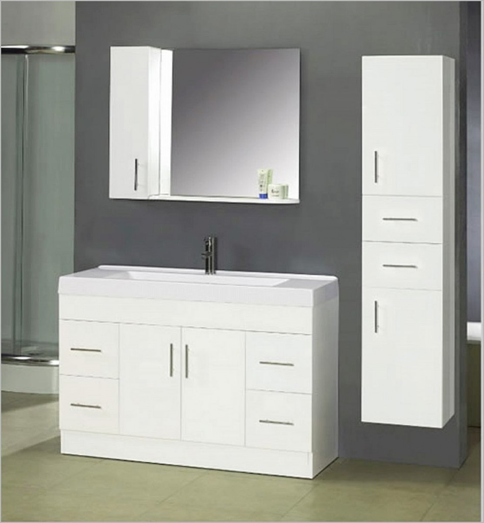 White Bathroom Vanity The Pros And Cons Interior Design Inspirations