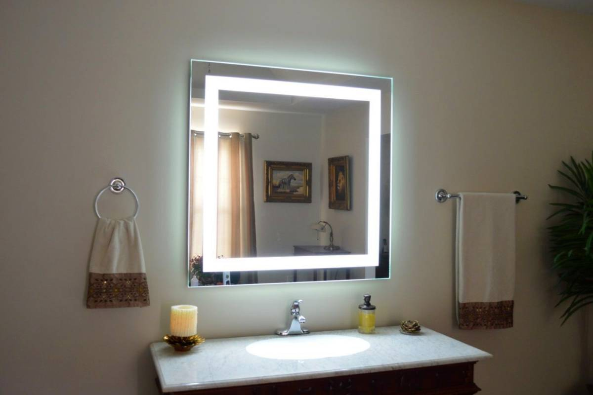 Bathroom Mirror Lights With Shaver Socket Some Excellent Led Bathroom Mirrors With Shaver Socket