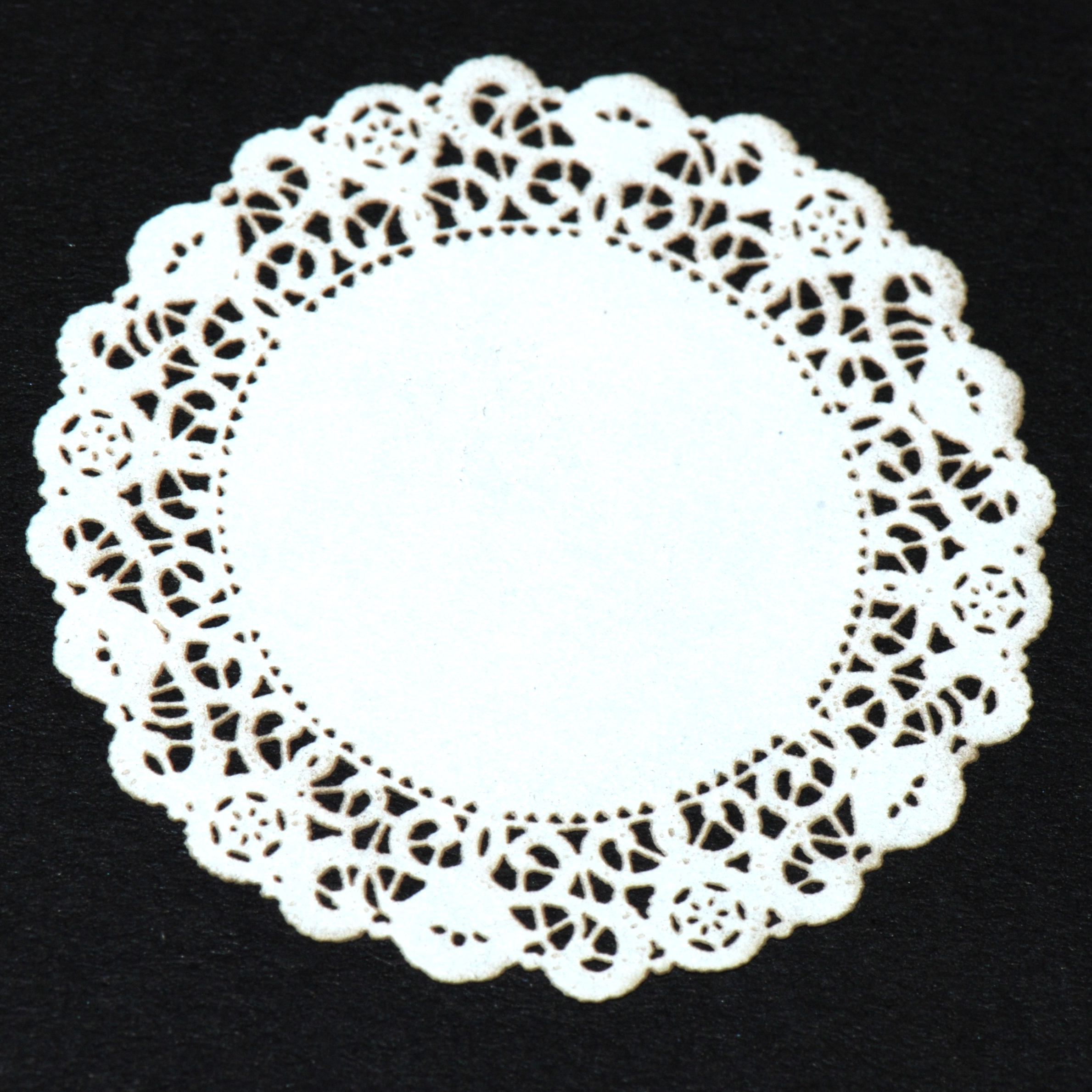 3d Wallpaper For Interior Decoration Large White Lace Doily 23 Stewart Dollhouse Creations