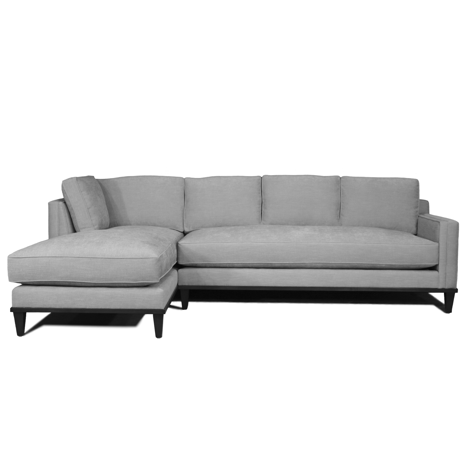 Sofa X Long Metropolitan 2 Piece Sofa Chaise Sectional Stewart Furniture