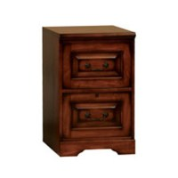 Winners Only Country Cherry Two Drawer File Cabinet