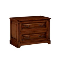 Winners Only Country Cherry 2 Drawer Lateral File Cabinet ...