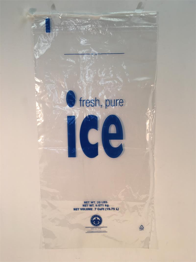 Bag Of Ice Price 20 Lb Drawstring Ice Bags Lowest Price Anywhere