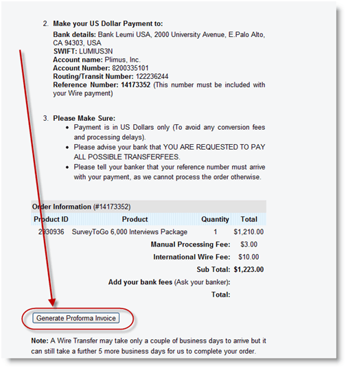 Proforma Invoice Reference Number Free Resume Samples