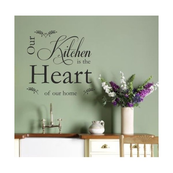 kitchen art vinyl wall art sticker quote kitchen heart decal vinyl beautiful creative vinyl wall art stickers web graphic design