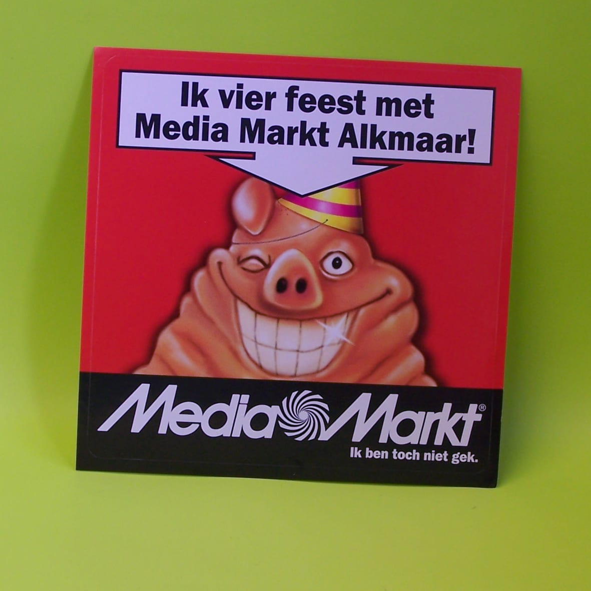 Vloersticker Tapijt Media Markt & Retail - Stickercompany