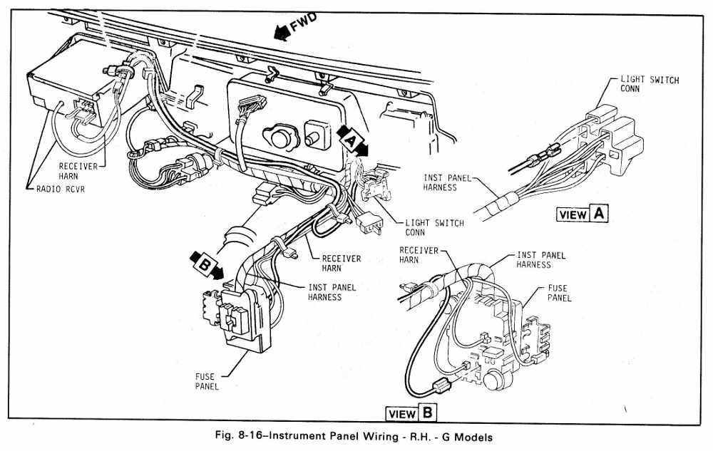 89 corvette wiper wiring diagrams