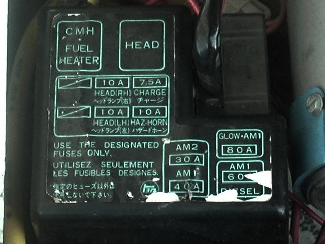 91 toyota pickup fuse box