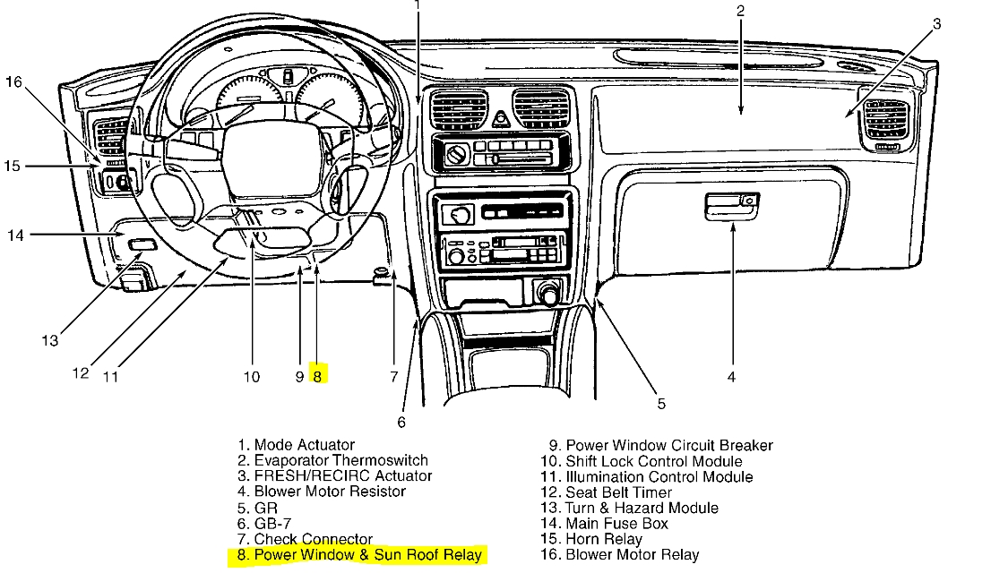 2002 subaru forester fuse diagram