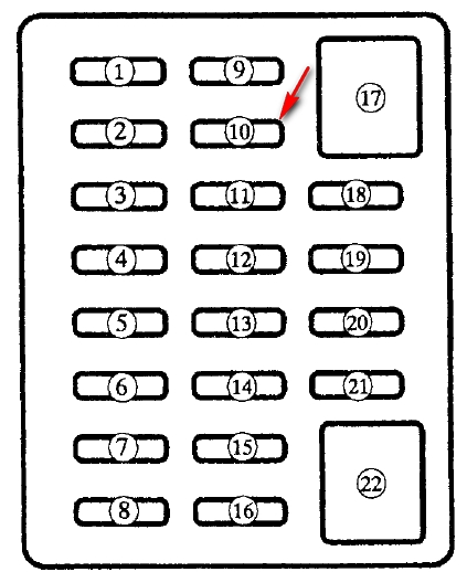 1993 mazda miata fuse box diagram