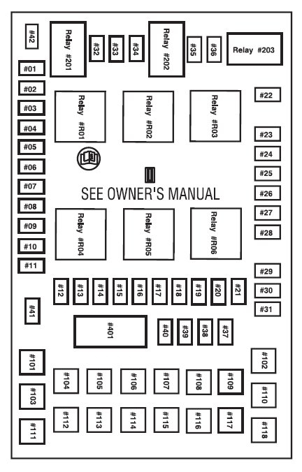 2006 ford f150 truck fuse diagram