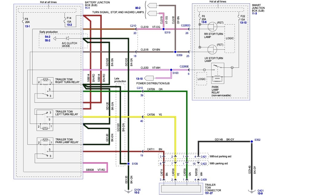 2005 ford escape wiring print