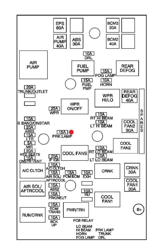 2009 chevy aveo fuse diagram