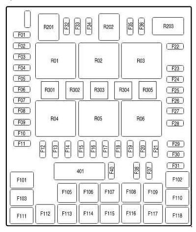 fuse panel diagram 2004 ford f150