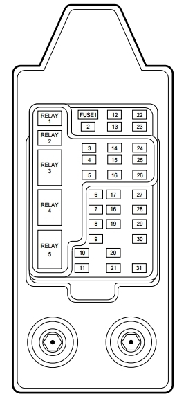 lincoln navigator fuse box diagram for 2002