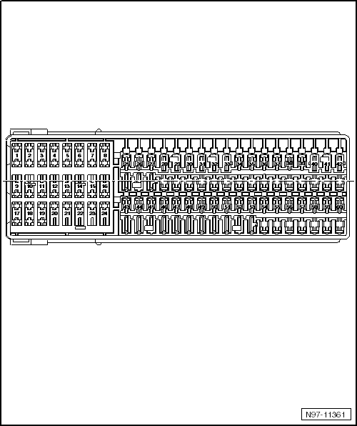 2011 volkswagen jetta fuse box diagram