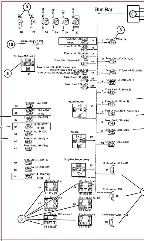 2007 dodge charger fuse box diagram list