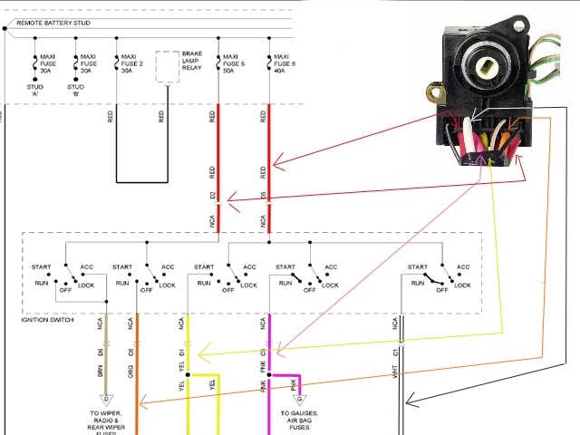 1995 chevy 4x4 wiring diagram